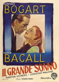 The Big Sleep - 27 x 40 Movie Poster - Italian Style C