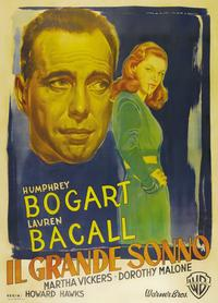 The Big Sleep - 27 x 40 Movie Poster - Italian Style B