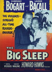 The Big Sleep - 27 x 40 Movie Poster - Style G