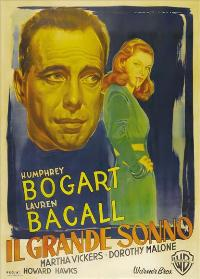 The Big Sleep - 43 x 62 Movie Poster - Italian Style A