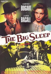 The Big Sleep - 11 x 17 Movie Poster - Spanish Style A