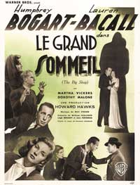 The Big Sleep - 43 x 62 Movie Poster - French Style A