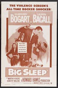The Big Sleep - 27 x 40 Movie Poster - Style C