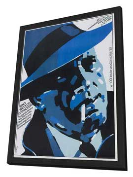 The Big Sleep - 27 x 40 Movie Poster - Polish Style A - in Deluxe Wood Frame