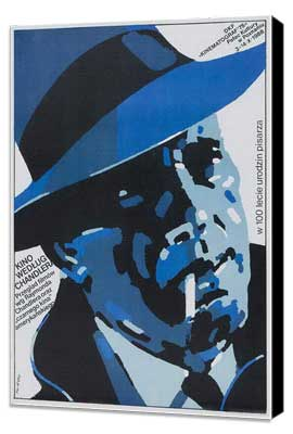 The Big Sleep - 27 x 40 Movie Poster - Polish Style A - Museum Wrapped Canvas