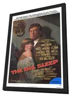 The Big Sleep - 11 x 17 Movie Poster - Style A - in Deluxe Wood Frame