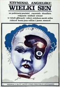 The Big Sleep - 11 x 17 Movie Poster - Polish Style A
