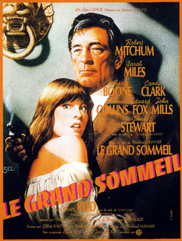 The Big Sleep - 11 x 17 Movie Poster - French Style A