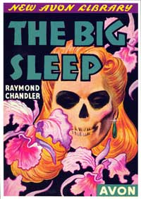 The Big Sleep - 11 x 17 Retro Book Cover Poster