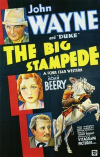 The Big Stampede - 11 x 17 Movie Poster - Style A