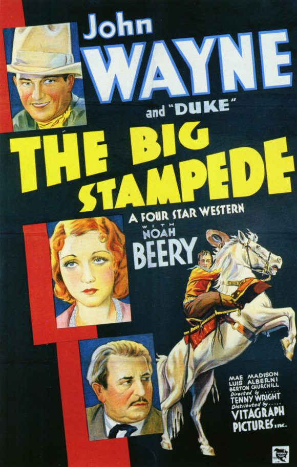 The Big Stampede Movie Posters From Movie Poster Shop