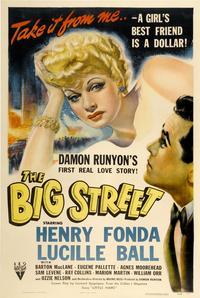 Big Street - 27 x 40 Movie Poster - Style B