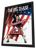 The Big Tease - 11 x 17 Movie Poster - Style A - in Deluxe Wood Frame