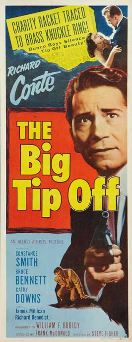 The Big Tip Off - 14 x 36 Movie Poster - Insert Style A