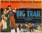 The Big Trail - 22 x 28 Movie Poster - Half Sheet Style B