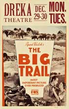 The Big Trail - 11 x 17 Movie Poster - Style C
