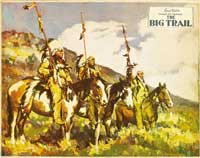 The Big Trail - 22 x 28 Movie Poster - Half Sheet Style A