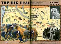 The Big Trail - 11 x 14 Movie Poster - Style B