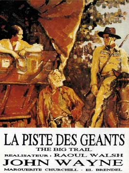 The Big Trail - 11 x 17 Movie Poster - French Style A