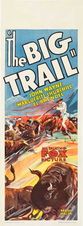 The Big Trail - 13 x 30 Movie Poster - Australian Style A