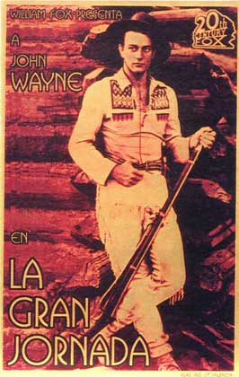 The Big Trail - 11 x 17 Movie Poster - Spanish Style A