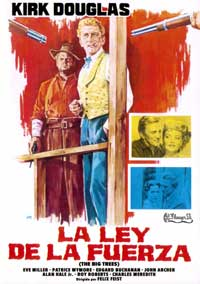 The Big Trees - 11 x 17 Movie Poster - Spanish Style A
