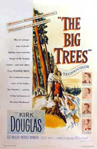 The Big Trees - 11 x 17 Movie Poster - Style A