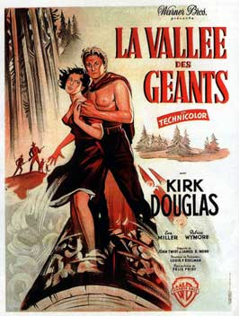 The Big Trees - 11 x 17 Movie Poster - French Style A