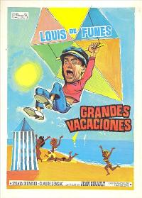 The Big Vacation - 11 x 17 Movie Poster - Spanish Style B