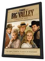 The Big Valley (TV) - 11 x 17 TV Poster - Style A - in Deluxe Wood Frame