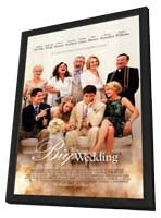 The Big Wedding - 27 x 40 Movie Poster - Style A - in Deluxe Wood Frame