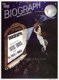 The Biograph - 43 x 62 Movie Poster - Bus Shelter Style A