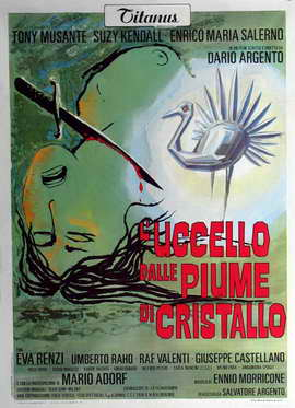 The Bird with the Crystal Plumage - 27 x 40 Movie Poster - Italian Style A
