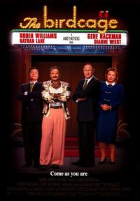 The Birdcage - 43 x 62 Movie Poster - Bus Shelter Style A