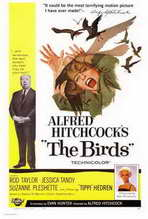 """The Birds"" Movie Poster"
