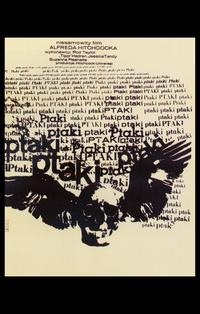 The Birds - 11 x 17 Poster - Foreign - Style B