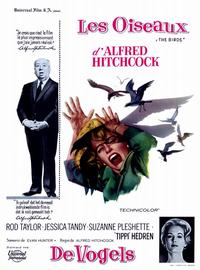 The Birds - 11 x 17 Movie Poster - Belgian Style A