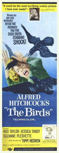 The Birds - 14 x 36 Movie Poster - Insert Style A