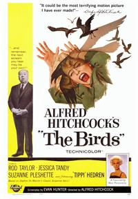 The Birds - 43 x 62 Movie Poster - Bus Shelter Style A