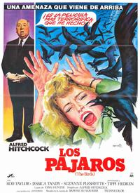 The Birds - 11 x 17 Movie Poster - Spanish Style B