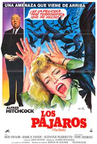 The Birds - 27 x 40 Movie Poster - Spanish Style A