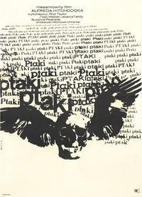 The Birds - 27 x 40 Movie Poster - Polish Style A