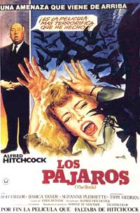 The Birds - 11 x 17 Movie Poster - Spanish Style C