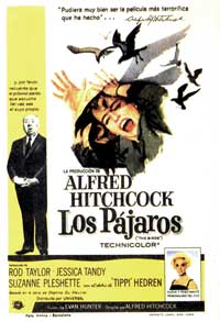 The Birds - 27 x 40 Movie Poster - Spanish Style B
