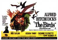 The Birds - 22 x 28 Movie Poster - Half Sheet Style A