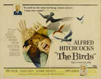 The Birds - 22 x 28 Movie Poster - Half Sheet Style B