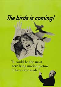 The Birds - 27 x 40 Movie Poster - Style D