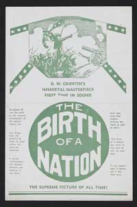 The Birth of a Nation - 27 x 40 Movie Poster - Style B
