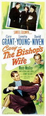 The Bishop's Wife - 14 x 36 Movie Poster - Insert Style A