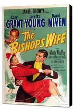 The Bishop's Wife - 11 x 17 Movie Poster - Style B - Museum Wrapped Canvas